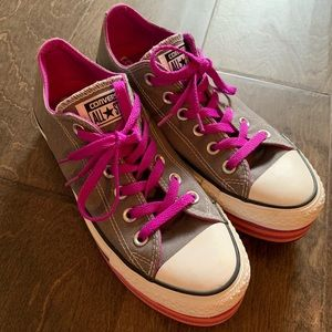 Converse All Star Platform Sneakers Shoes